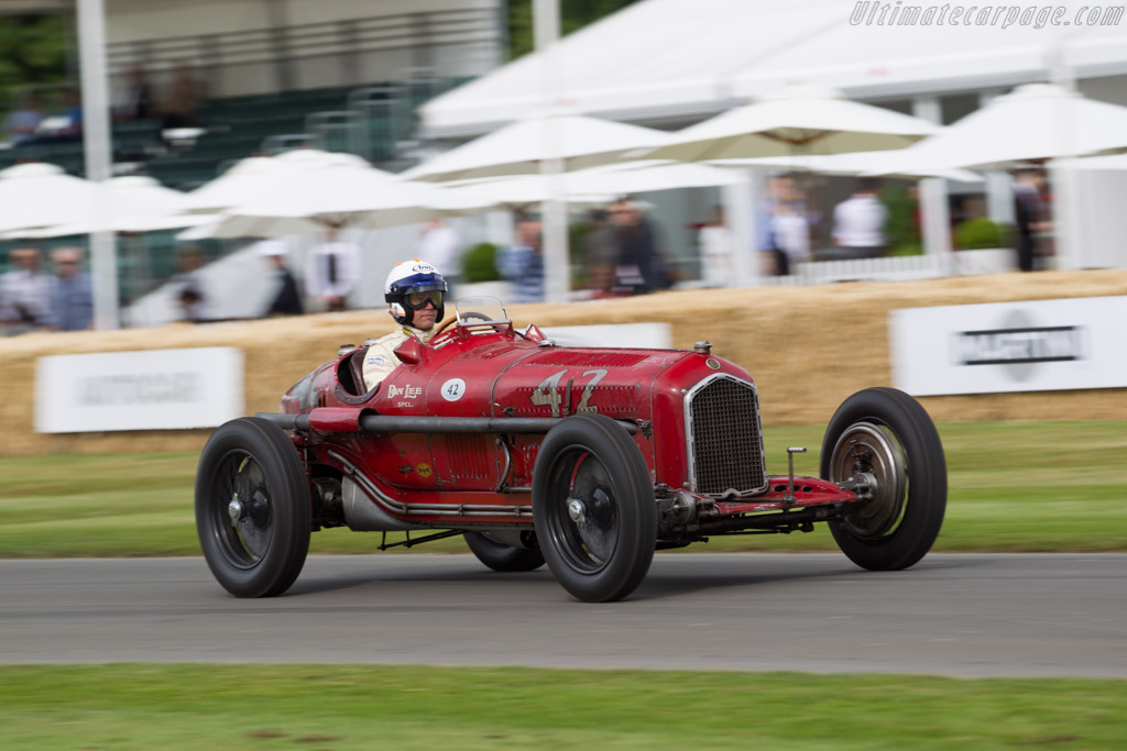 Alfa Romeo Tipo B - Chassis: 50007 - Entrant: Hugh Taylor - Driver: James Wood  - 2015 Goodwood Festival of Speed