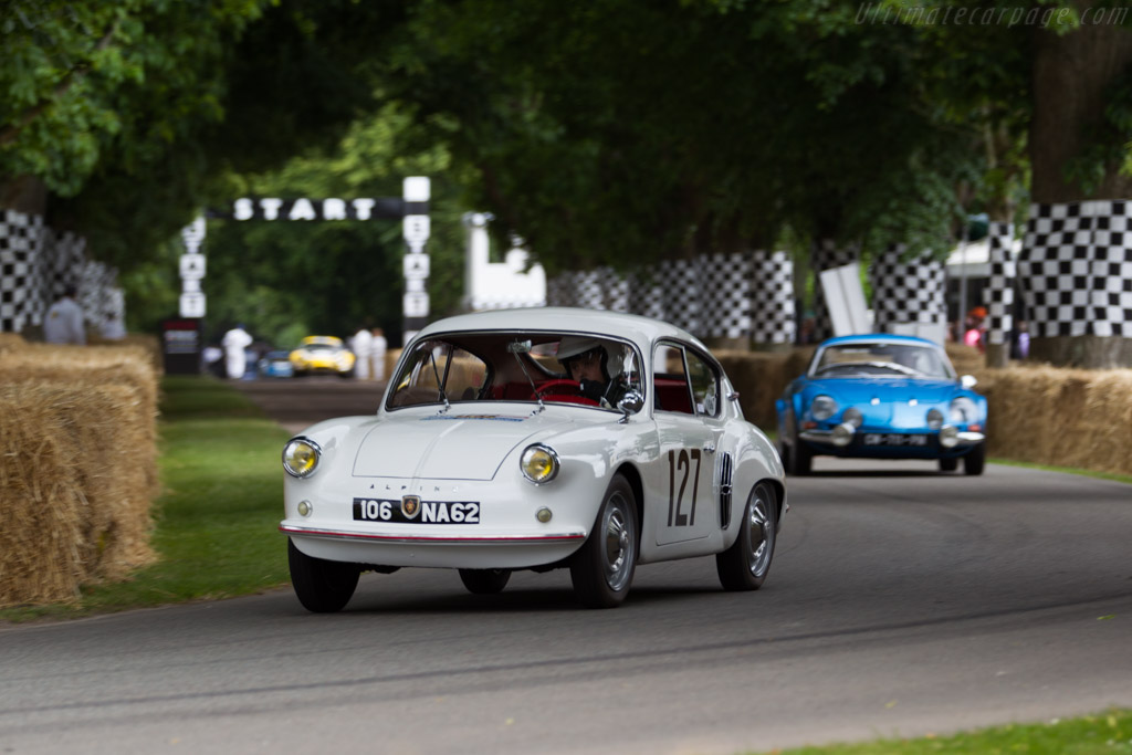 Alpine A106  - Entrant: Collection Renault - Driver: Francois Chiron  - 2015 Goodwood Festival of Speed