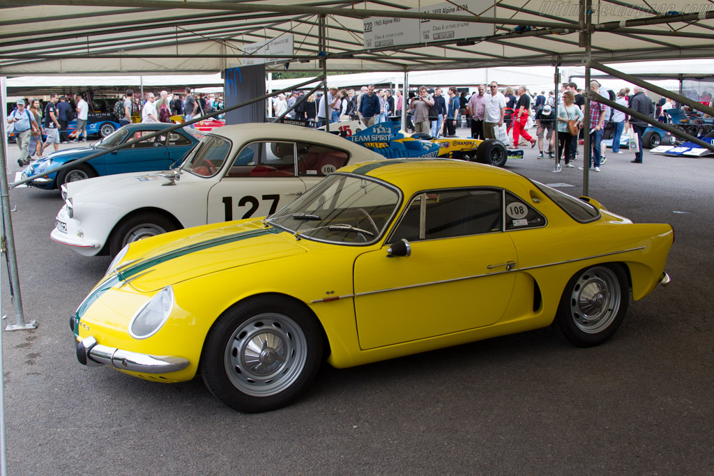 Alpine A108 Interlagos  - Entrant: Collection Renault  - 2015 Goodwood Festival of Speed