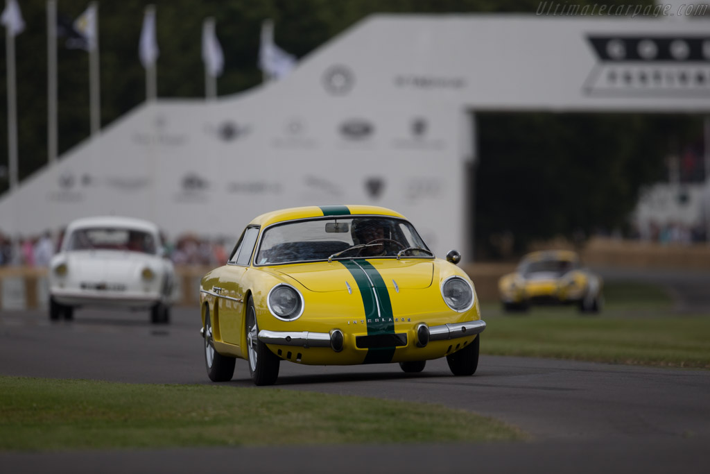 Alpine A108 Interlagos  - Entrant: Collection Renault - Driver: Christophe Saffre  - 2015 Goodwood Festival of Speed