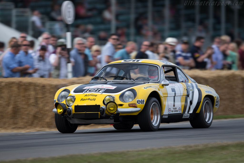 Alpine A110 Group 4  - Entrant: Collection Renault  - 2015 Goodwood Festival of Speed