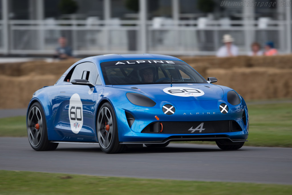 Alpine Celebration Coupe  - Entrant: Alpine - Driver: Charles Lord March  - 2015 Goodwood Festival of Speed