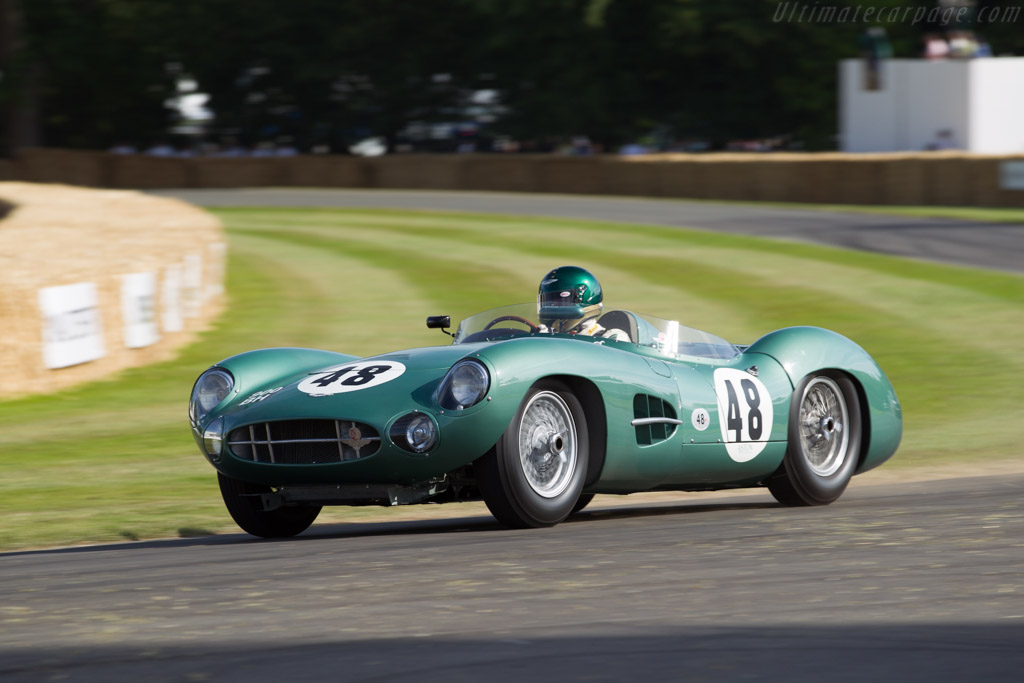Aston Martin DBR1 - Chassis: DBR1/5 - Driver: Wolfgang Friedrichs  - 2015 Goodwood Festival of Speed