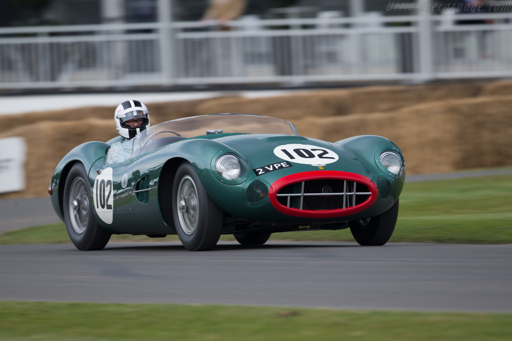 Aston Martin DBR2 - Chassis: DBR2/1 - Entrant: Sir Anthony Bamford - Driver: Peter Bradfield  - 2015 Goodwood Festival of Speed