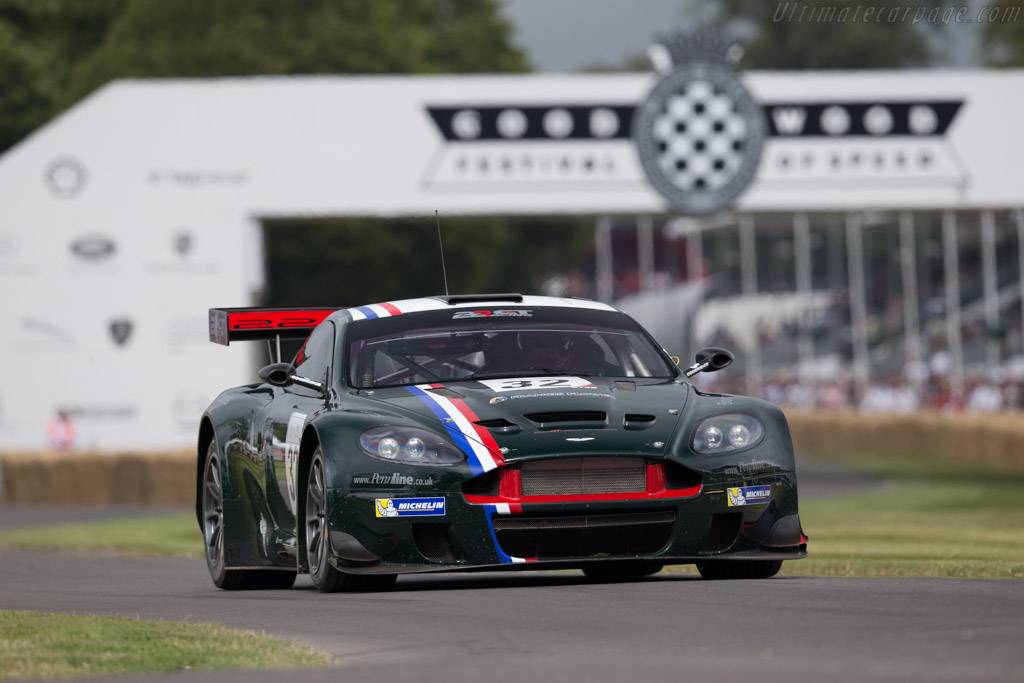 Aston Martin DBRS9 - Chassis: DBRS9/1 - Driver: Tom Alexander  - 2015 Goodwood Festival of Speed