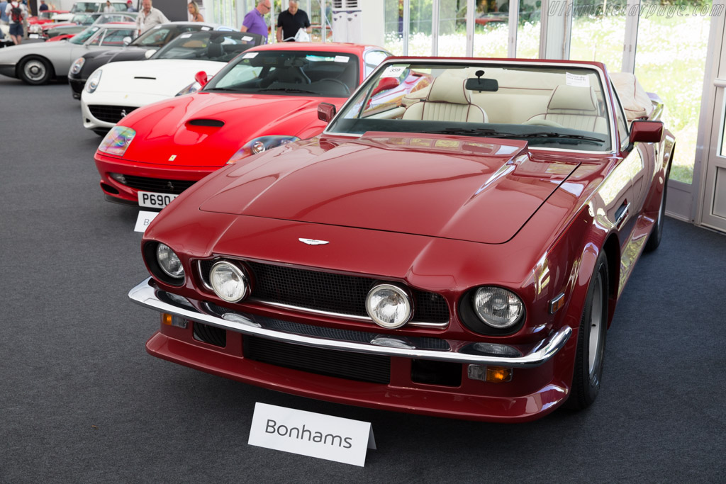 Aston Martin V8 Vantage Volante - Chassis: SCFCV81V9JTL15663   - 2015 Goodwood Festival of Speed