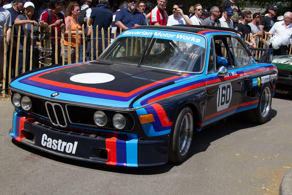 BMW 3.0 CSL - Chassis: 2275998 - Driver: Alex Elliott  - 2015 Goodwood Festival of Speed