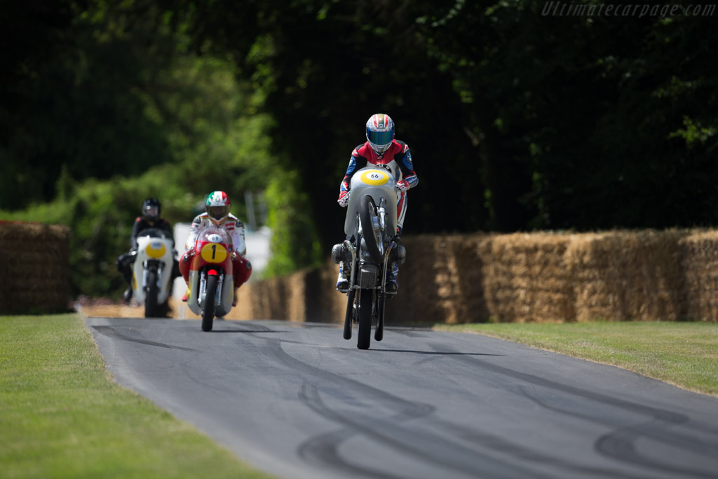 BMW R50S  - Driver: Troy Corser  - 2015 Goodwood Festival of Speed