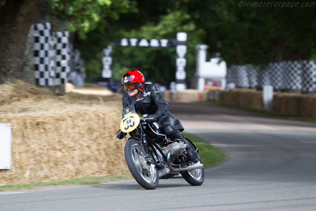 BMW Rennsport  - Driver: Sammy Miller  - 2015 Goodwood Festival of Speed