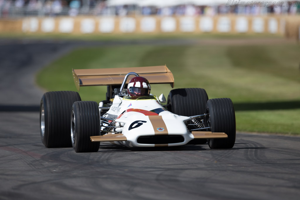 BRM P153 - Chassis: P153/05 - Entrant: Jaime Bergel - Driver: Jackie Oliver  - 2015 Goodwood Festival of Speed