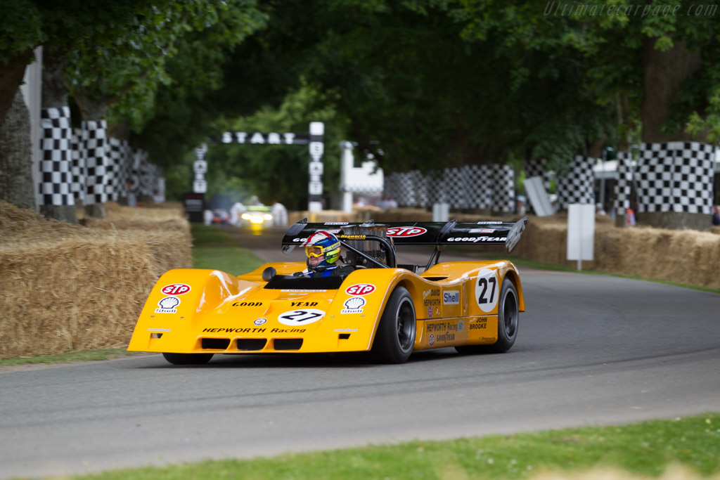 BRM P167 - Chassis: 167-02 - Entrant: Stephen Hepworth - Driver: Andrew Hepworth  - 2015 Goodwood Festival of Speed