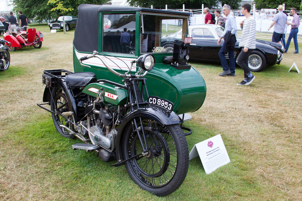 BSA Colonial 6-7hp with County Taxi Sidecar    - 2015 Goodwood Festival of Speed