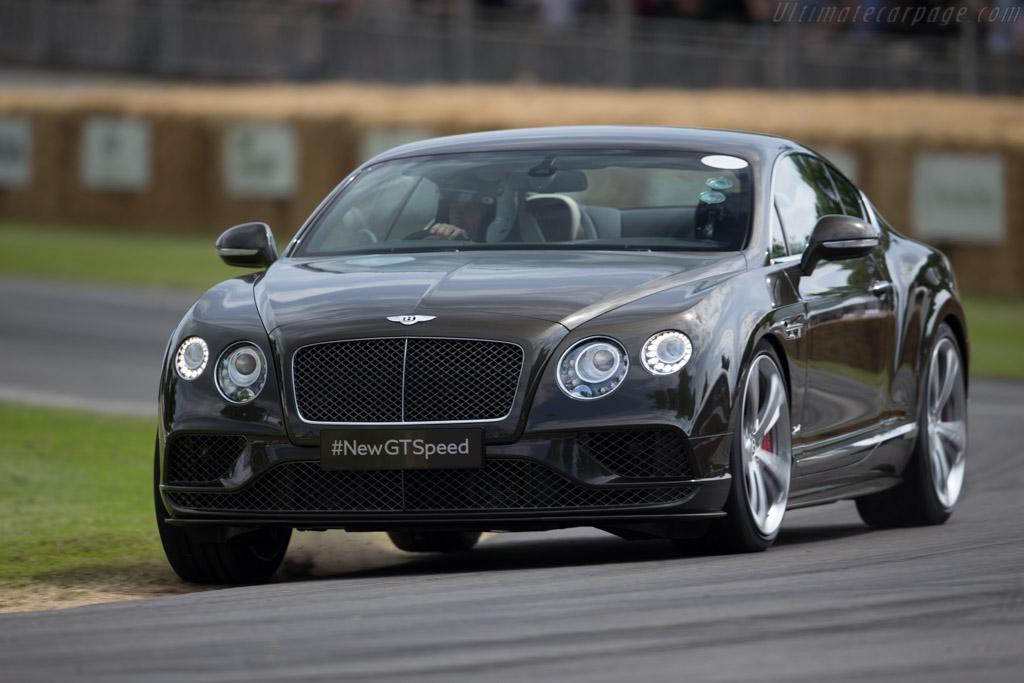 Bentley Continental GT Speed   - 2015 Goodwood Festival of Speed