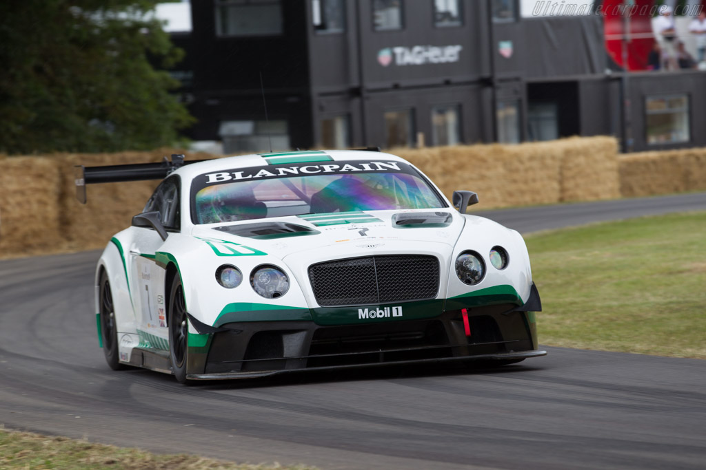Bentley Continental GT3  - Driver: Guy Smith  - 2015 Goodwood Festival of Speed
