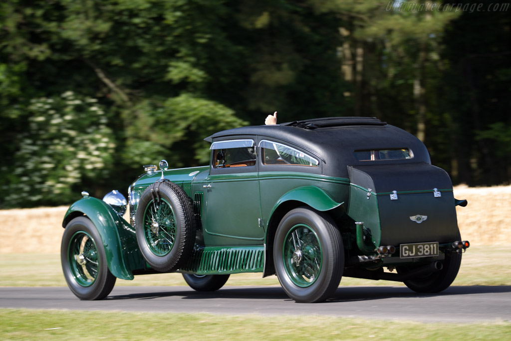 Bentley Speed Six 'Blue Train Coupe' - Chassis: HM2855 - Entrant: Bruce McCaw - Driver: Richard Charlesworth  - 2015 Goodwood Festival of Speed