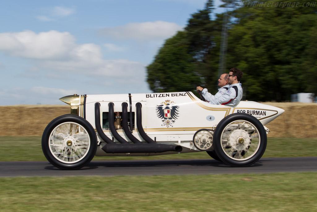 Benz 200hp 'Blitzen Benz' - Chassis: 2141 - Driver: Bill Evans  - 2015 Goodwood Festival of Speed