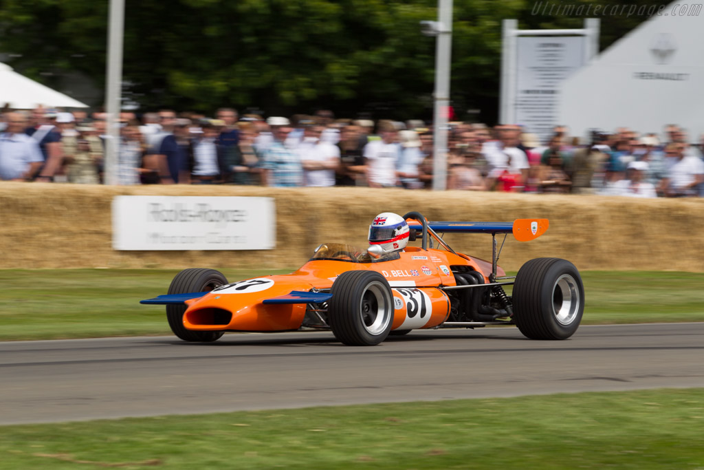 Brabham BT30 Ford - Chassis: BT30-16 - Entrant: Lincoln Small - Driver: Derek Bell  - 2015 Goodwood Festival of Speed