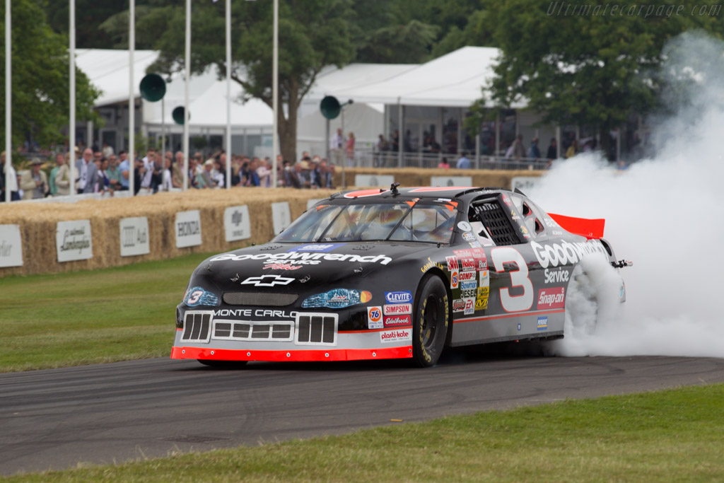 Chevrolet Monte Carlo  - Entrant: Richard Childress Racing - Driver: Kerry Earnhardt  - 2015 Goodwood Festival of Speed