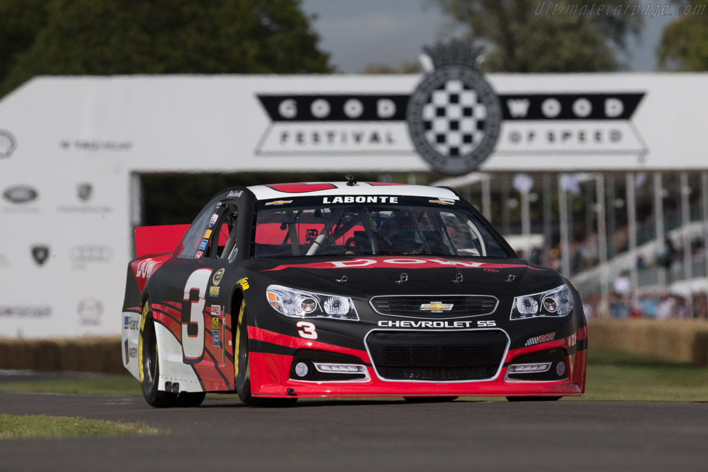 Chevrolet SS  - Entrant: Richard Childress Racing - Driver: Bobby Labonte  - 2015 Goodwood Festival of Speed