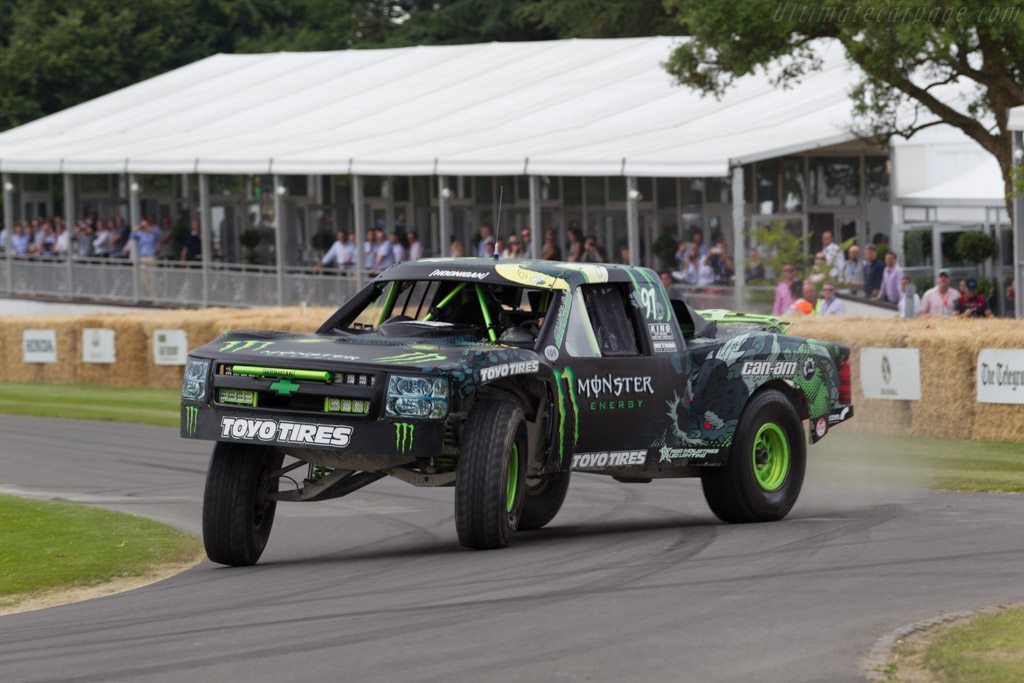 Chevy Custom  - Driver: BJ Baldwin  - 2015 Goodwood Festival of Speed