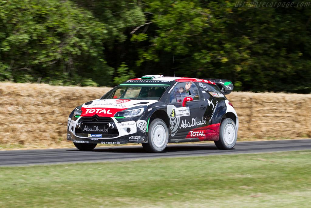 Citroën DS3 WRC  - Entrant: Citroën UK - Driver: Kris Meeke  - 2015 Goodwood Festival of Speed
