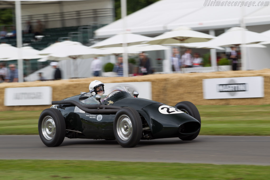 Connaught B Type  - Driver: John Morley  - 2015 Goodwood Festival of Speed