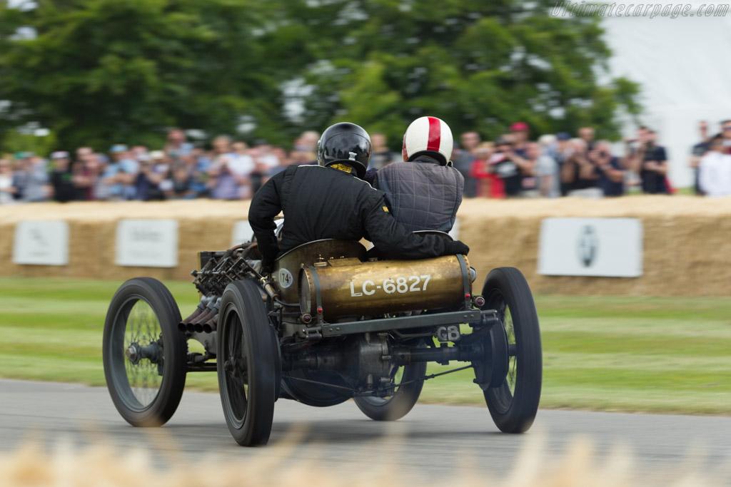 Darracq 200hp  - Driver: Mark Walker  - 2015 Goodwood Festival of Speed