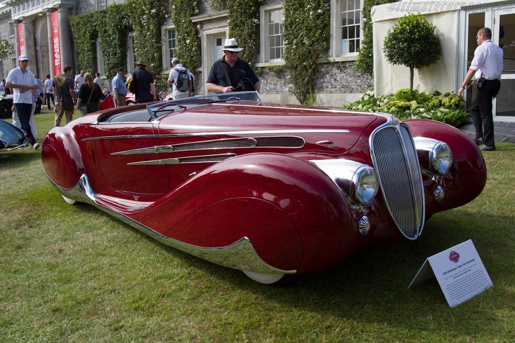 Delahaye 165 Figoni & Falaschi Cabriolet - Chassis: 60744 - Entrant: Peter Mullin  - 2015 Goodwood Festival of Speed
