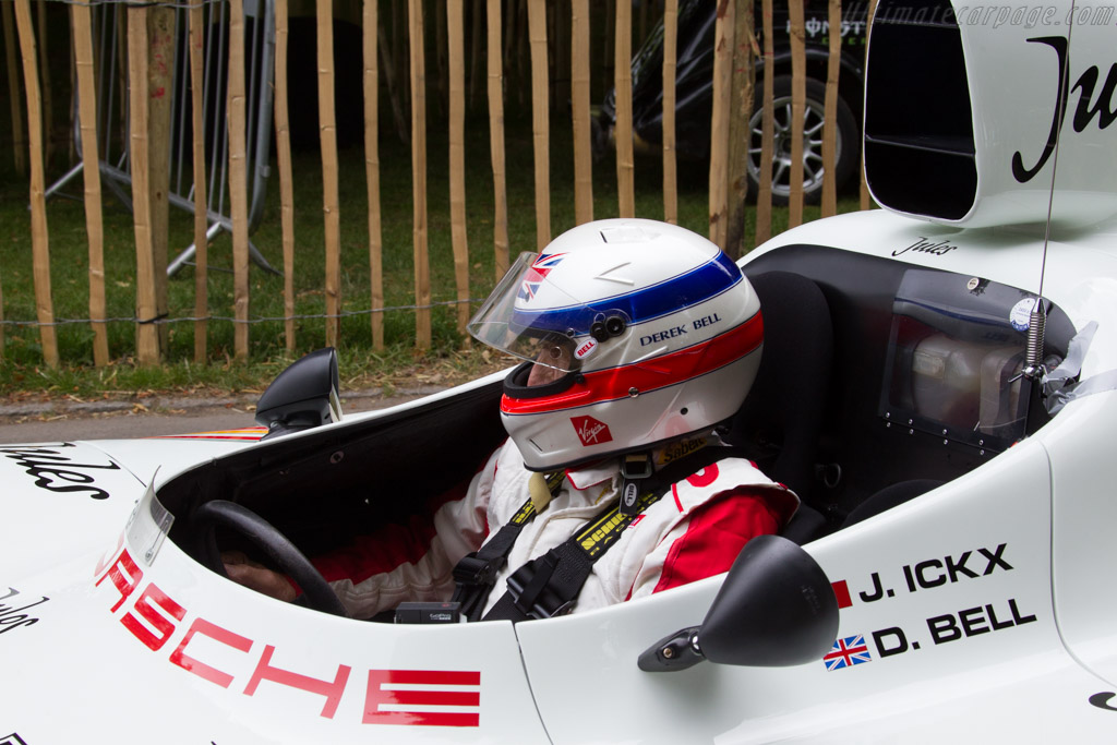 Derek Bell - Chassis: 936-003   - 2015 Goodwood Festival of Speed