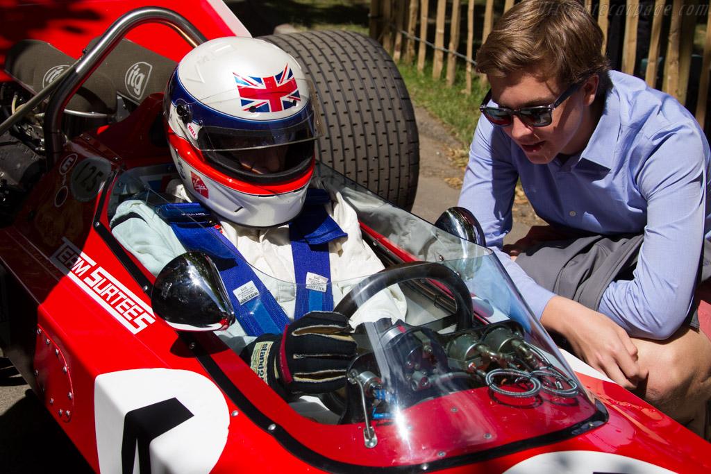 Derek Bell - Chassis: TS7-001   - 2015 Goodwood Festival of Speed