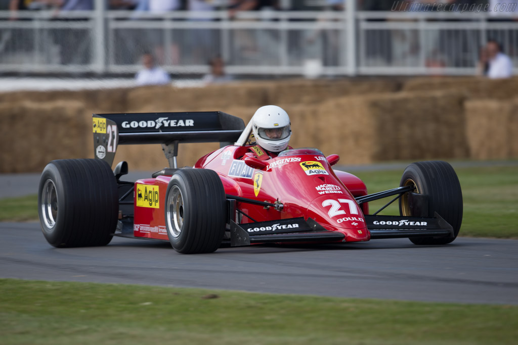Ferrari 126 C4 - Chassis: 072 - Driver: Daniel Rollinger  - 2015 Goodwood Festival of Speed