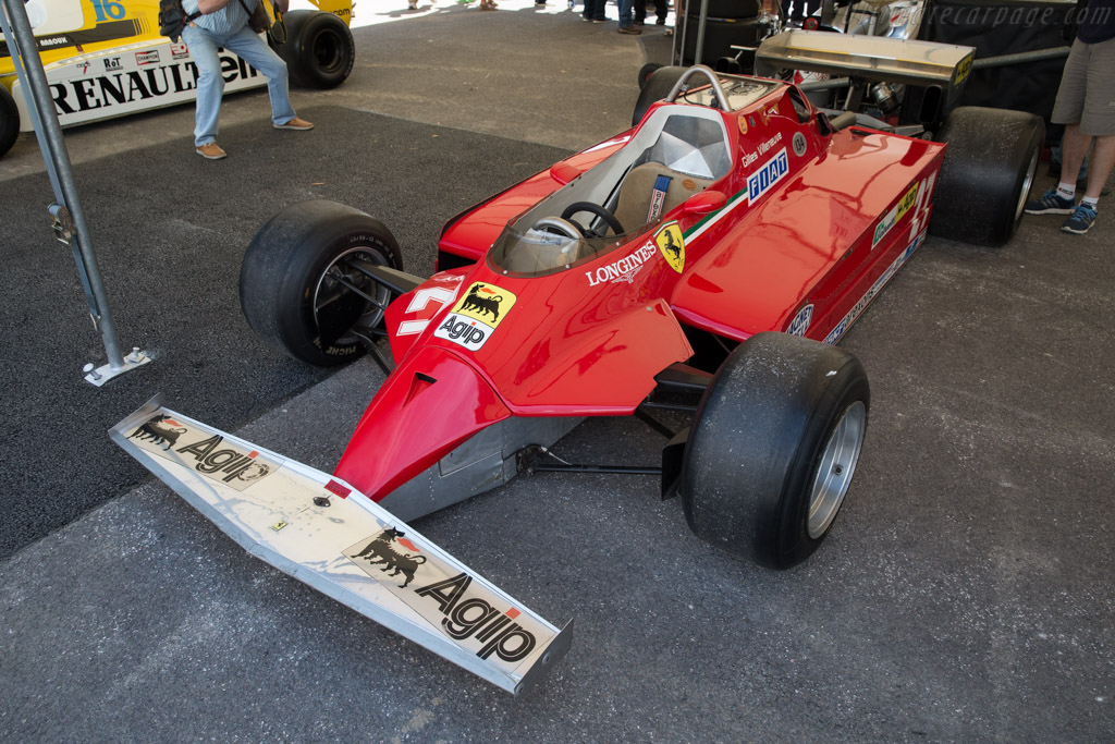 Ferrari 126 CK - Chassis: 052 - Entrant: Ferrari  - 2015 Goodwood Festival of Speed