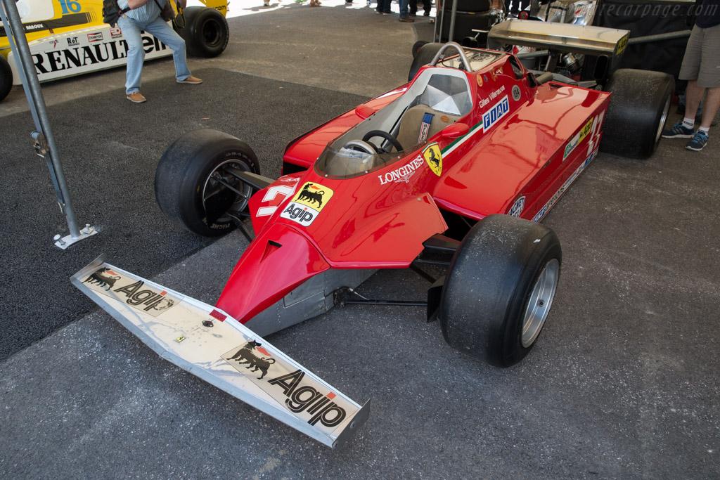 Ferrari 126 CK - Chassis: 052 - Entrant: Ferrari  - 2015 Goodwood Festival of Speed
