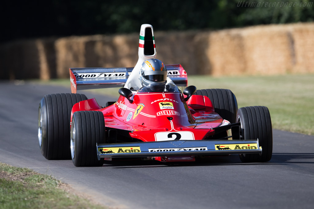 Ferrari 312 T - Chassis: 024 - Entrant: Hall & Hall - Driver: Rob Hall  - 2015 Goodwood Festival of Speed