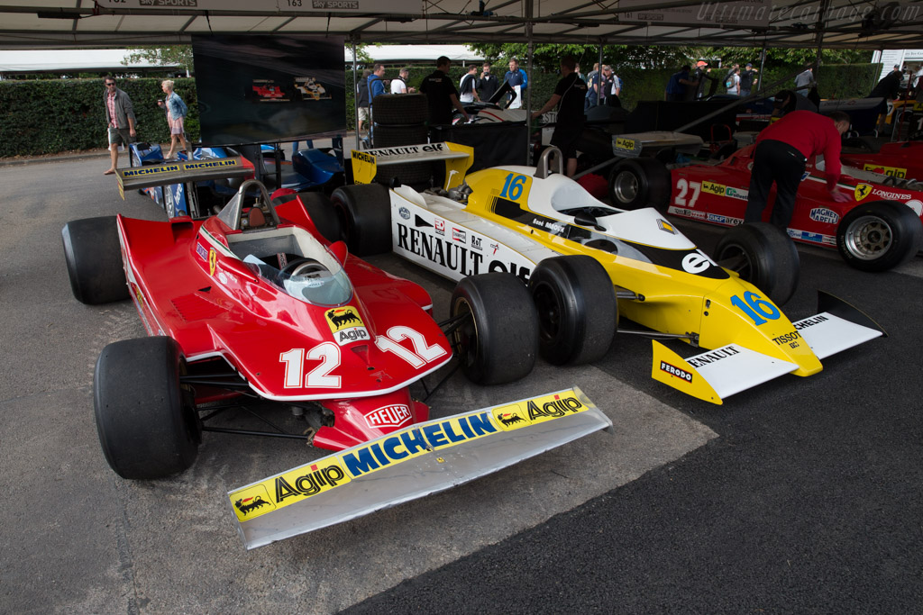 Ferrari 312 T4 - Chassis: 041   - 2015 Goodwood Festival of Speed