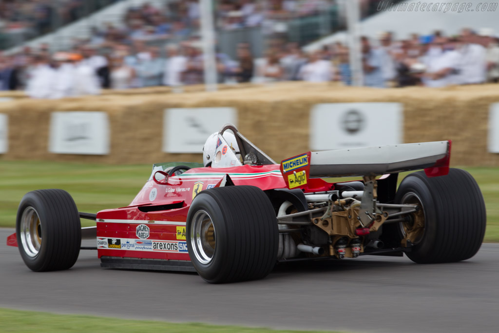 Ferrari 312 T5 - Chassis: 042 - Entrant: Hall & Hall - Driver: Rick Hall  - 2015 Goodwood Festival of Speed
