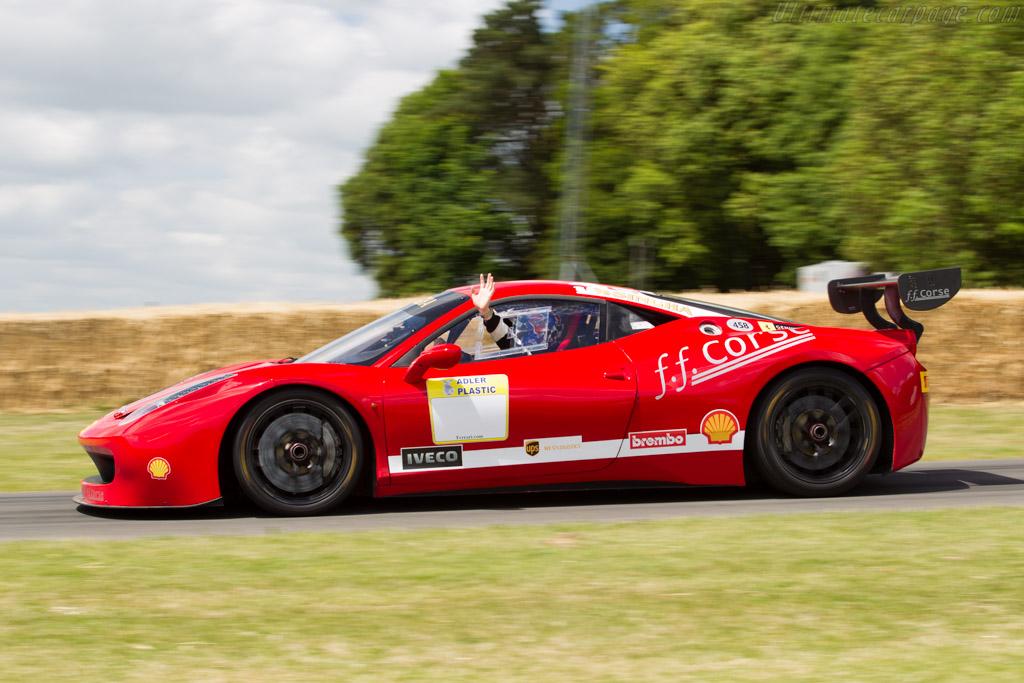 Ferrari 458 GT3    - 2015 Goodwood Festival of Speed
