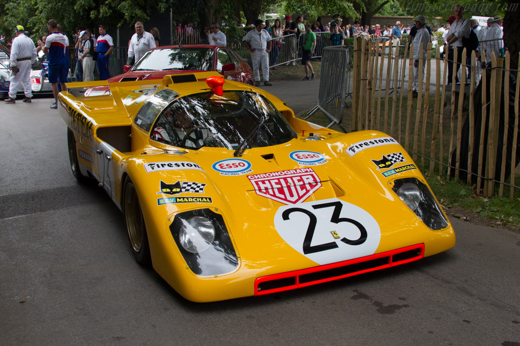 Ferrari 512 M - Chassis: 1030 - Entrant: TK Mak - Driver: Derek Bell  - 2015 Goodwood Festival of Speed