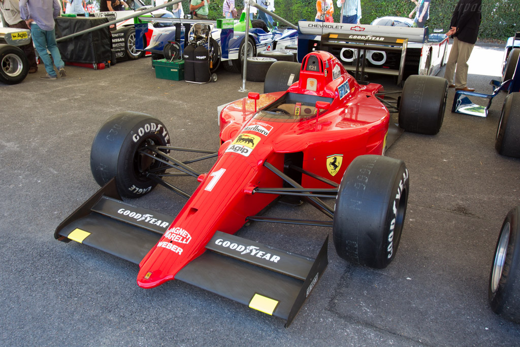 Ferrari 641 F1 - Chassis: 121 - Entrant: Aaron Hsu  - 2015 Goodwood Festival of Speed