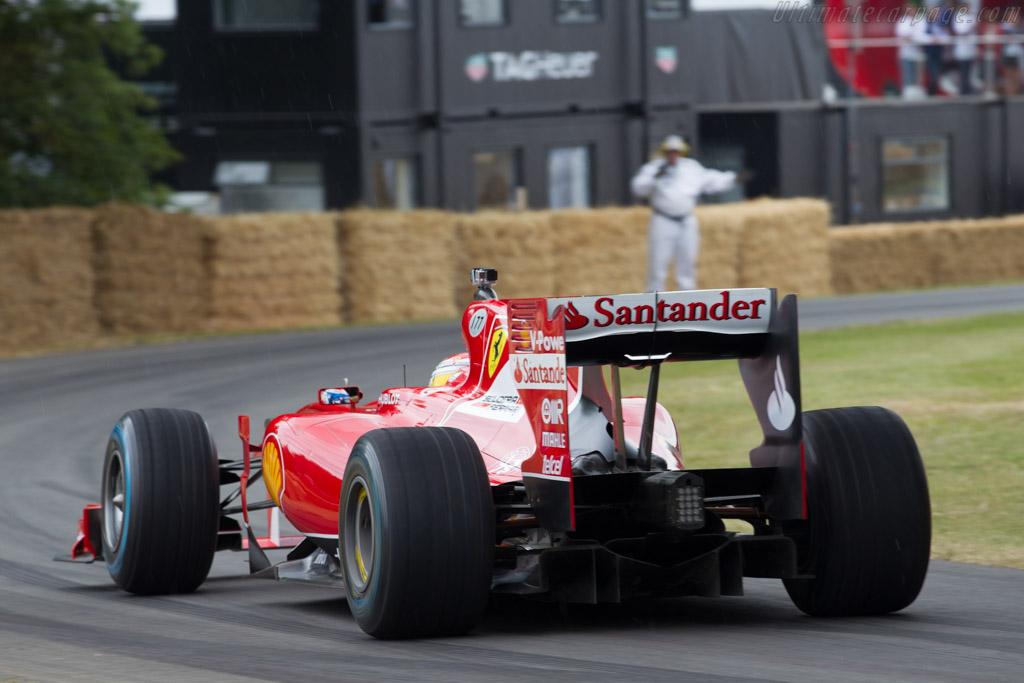 Ferrari F10 - Chassis: 285 - Entrant: Scuderia Ferrari - Driver: Marc Gene  - 2015 Goodwood Festival of Speed