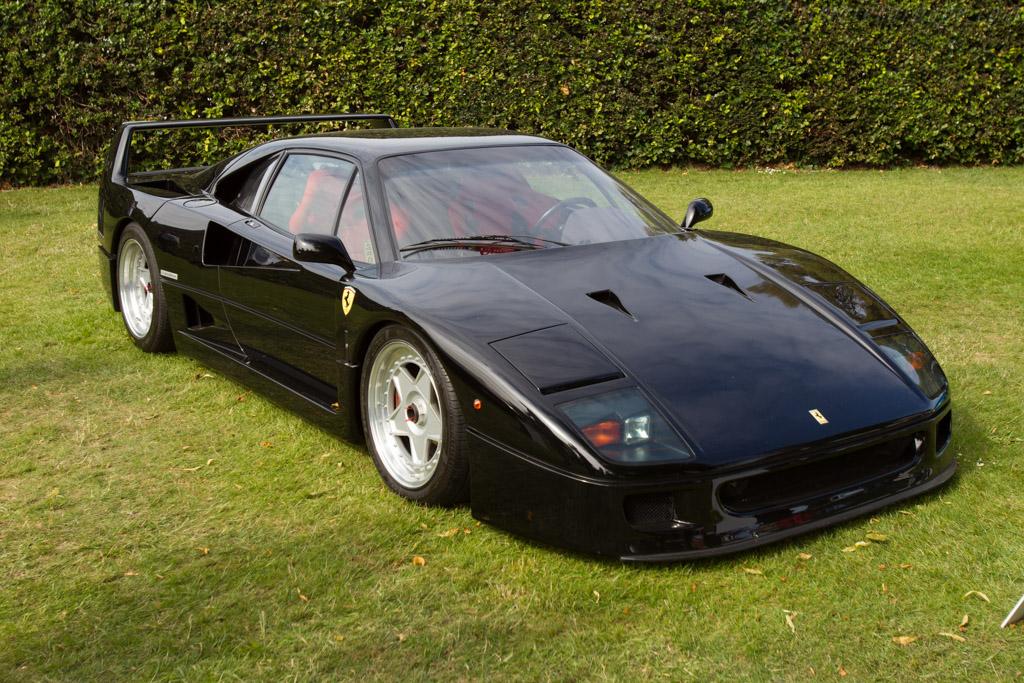 Ferrari F40 - Chassis: 84764 - Entrant: Andrew Bruce  - 2015 Goodwood Festival of Speed