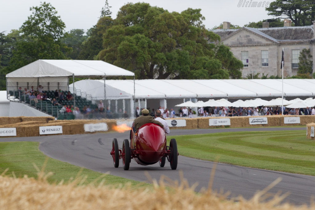 Fiat S.76 - Chassis: 1 - Driver: Duncan Pittaway  - 2015 Goodwood Festival of Speed