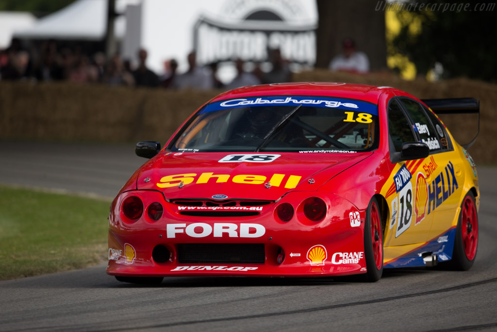 Ford Falcon V8 Supercar  - Driver: Andy Robinson  - 2015 Goodwood Festival of Speed
