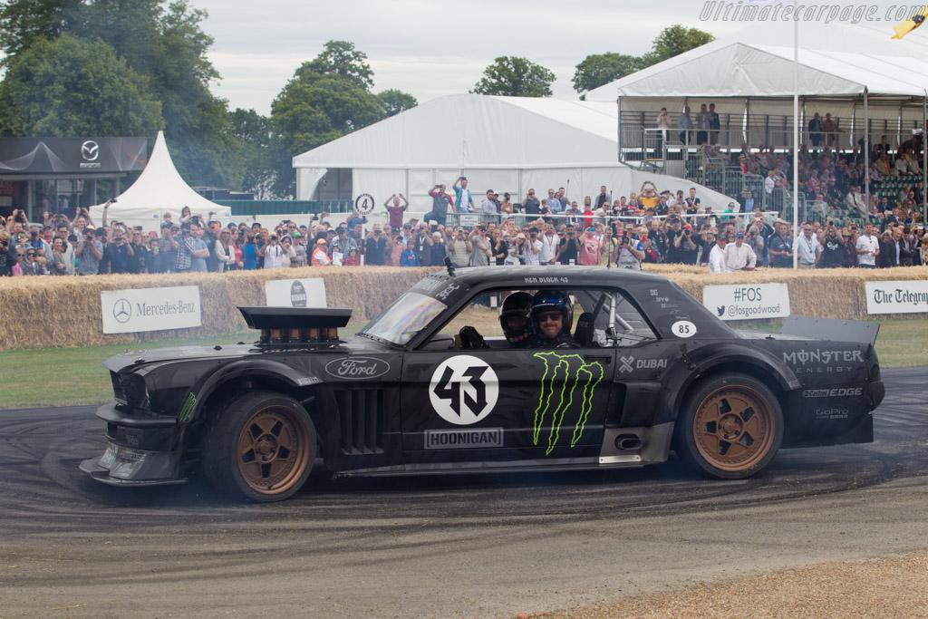 Ford Mustang Hoonicorn Driver Ken Block 2015 Goodwood