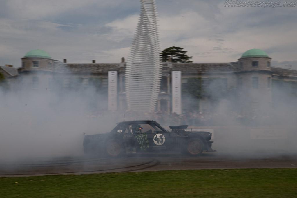 Ford Mustang Hoonicorn  - Driver: Ken Block  - 2015 Goodwood Festival of Speed