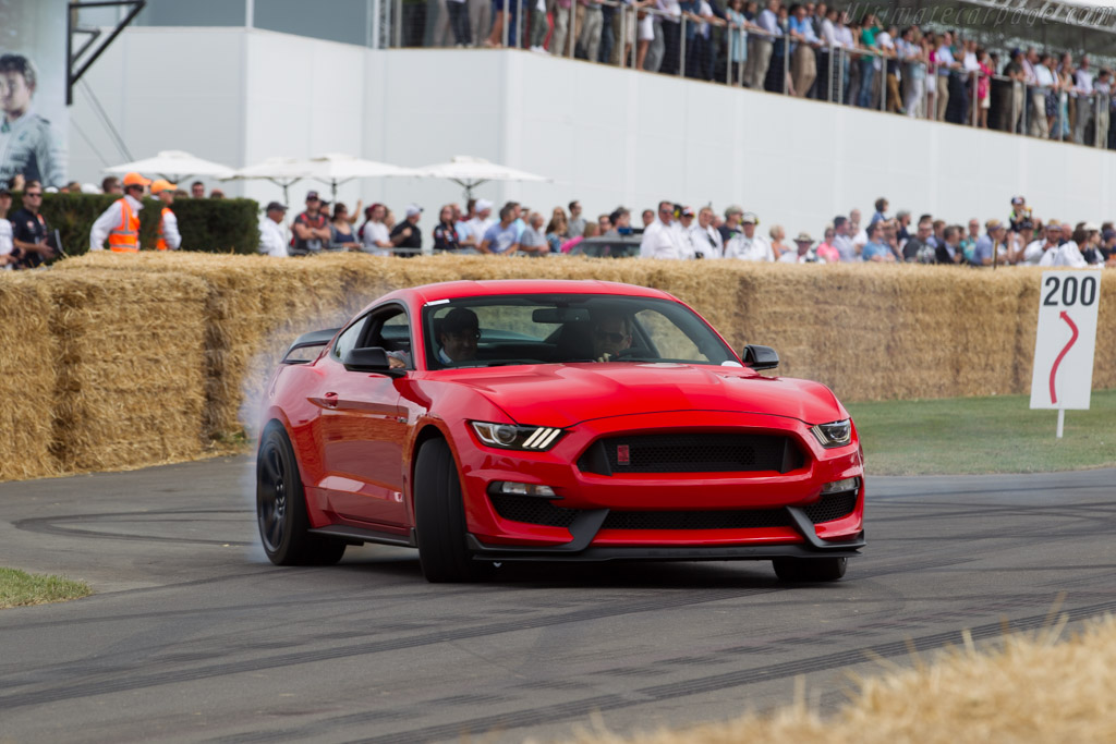 Ford Shelby Mustang GT350R    - 2015 Goodwood Festival of Speed