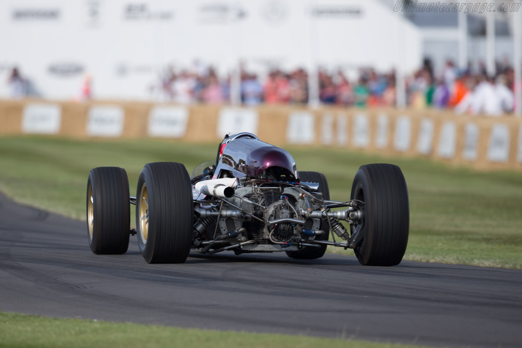 Gerhardt Indy - Chassis: 1 - Driver: Robin Ward  - 2015 Goodwood Festival of Speed