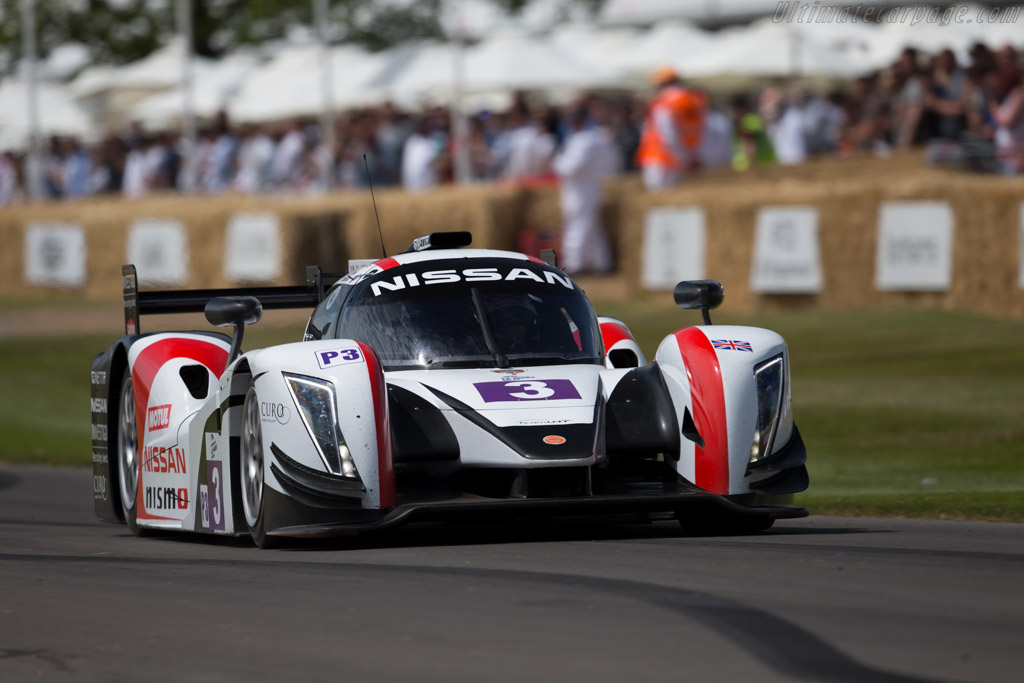 Ginetta LMP3 Nissan - Chassis: P3-15-01 - Entrant: Nissan Motor - Driver: Sir Chris Hoy  - 2015 Goodwood Festival of Speed