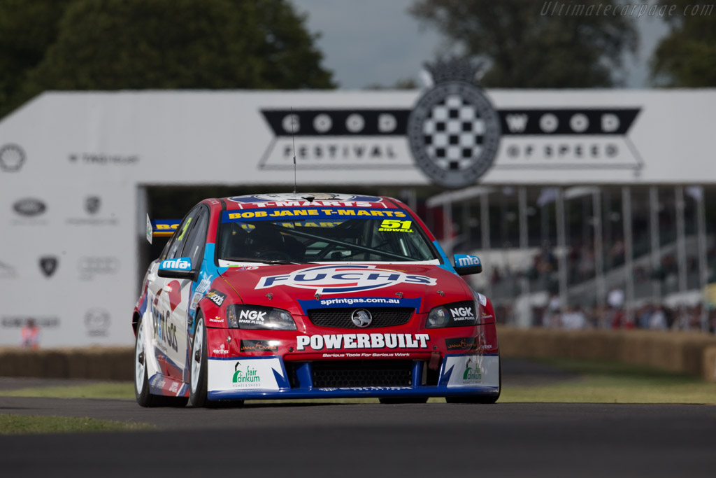 Holden Commodore VE  - Driver: Alex Sidwell  - 2015 Goodwood Festival of Speed