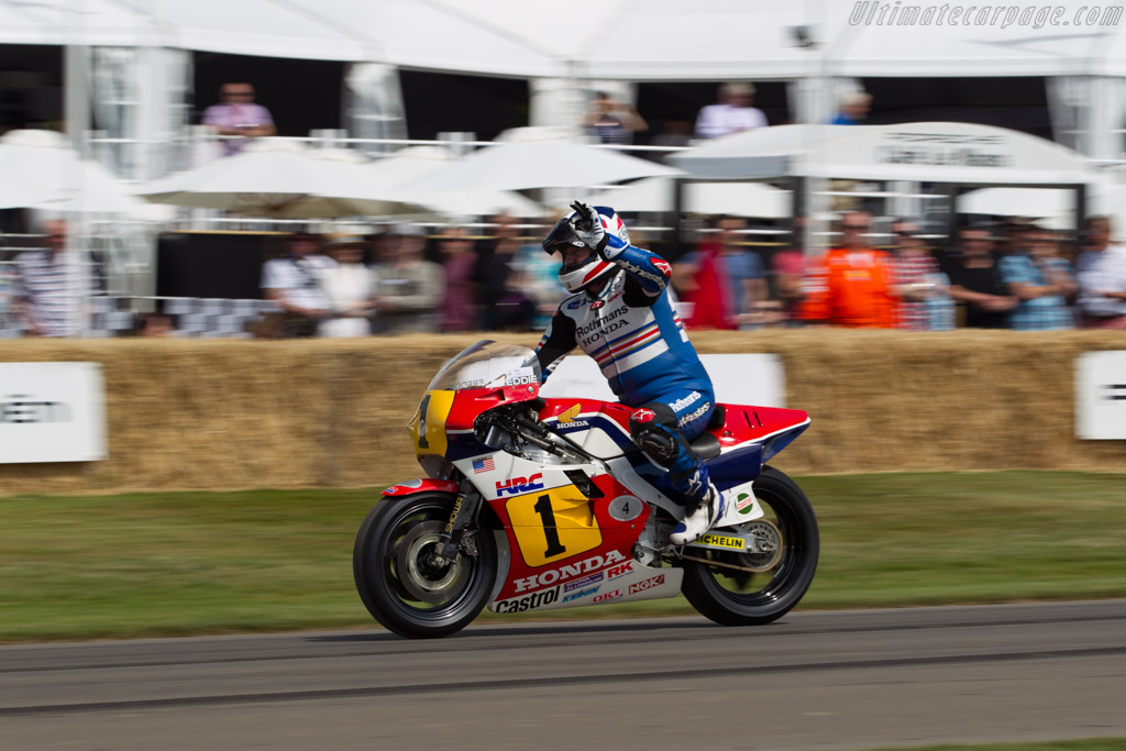 Honda NSR500  - Driver: Freddie Spencer  - 2015 Goodwood Festival of Speed